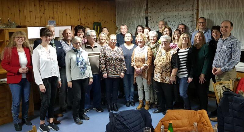 Zertifikatsübergabe an neue Betreuer im Westerwaldkreis