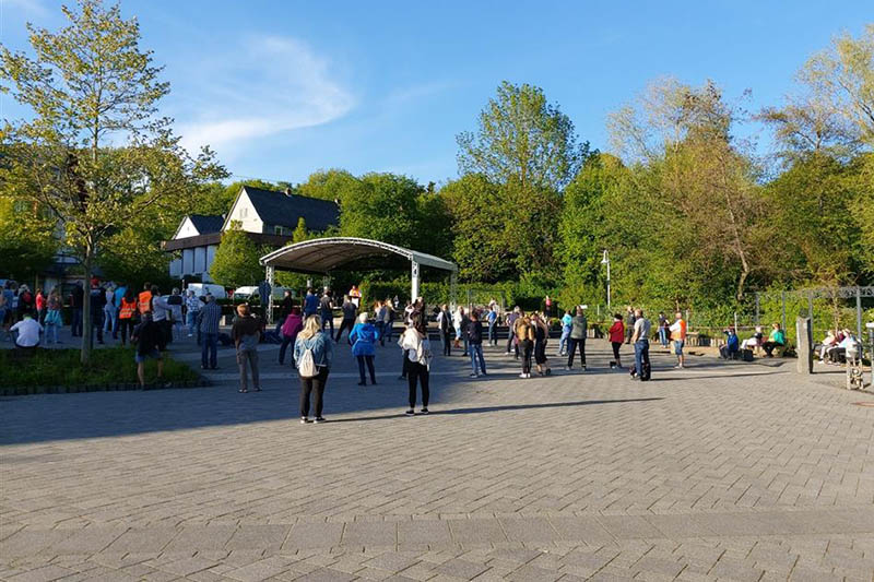 Erneute Demo in Bad Marienberg