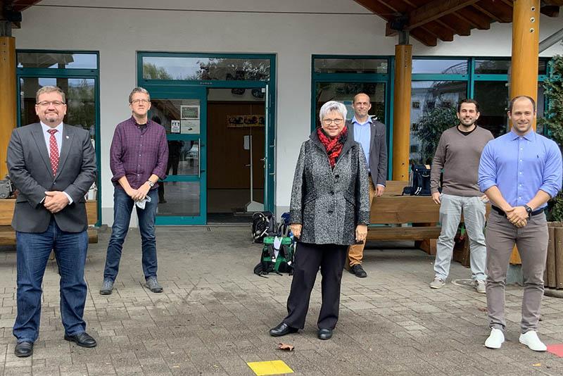 Grundschule Am Frankenwall in Asbach - digitaler Unterricht hat hohen Stellenwert