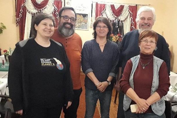 Die Grünen OV Puderbach wählen neuen Vorstand