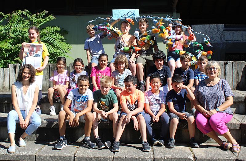 Tigerklasse Grundschule Am Reichenberg erhält Sonderpreis Malwettbewerb BHAG