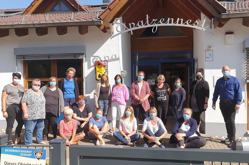 Windhagener KiTa-Spatzennest trifft sich zur Teambesprechung