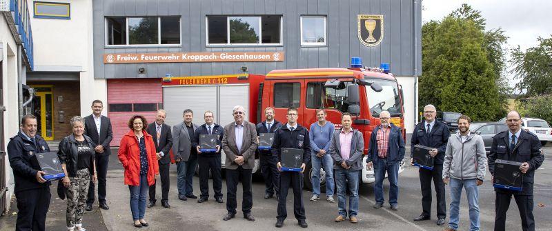 Wärmebildkameras für sechs Löschgruppen in der VG Hachenburg