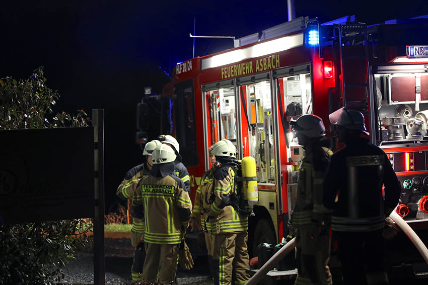 Kellerbrand in Parscheid