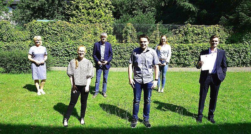 Nachwuchskräfte der Verbandsgemeinde Selters