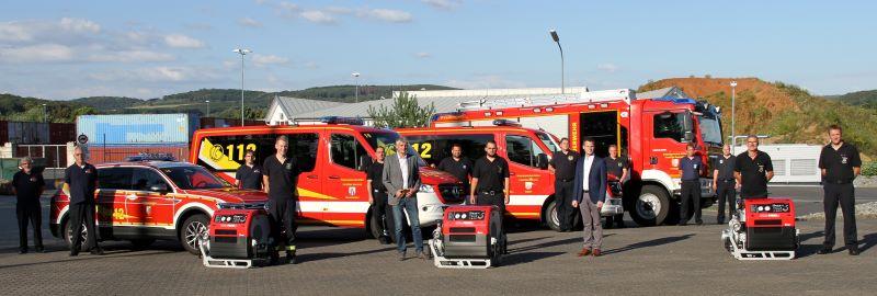 Neue Fahrzeuge und Technik für Feuerwehr der VG Selters