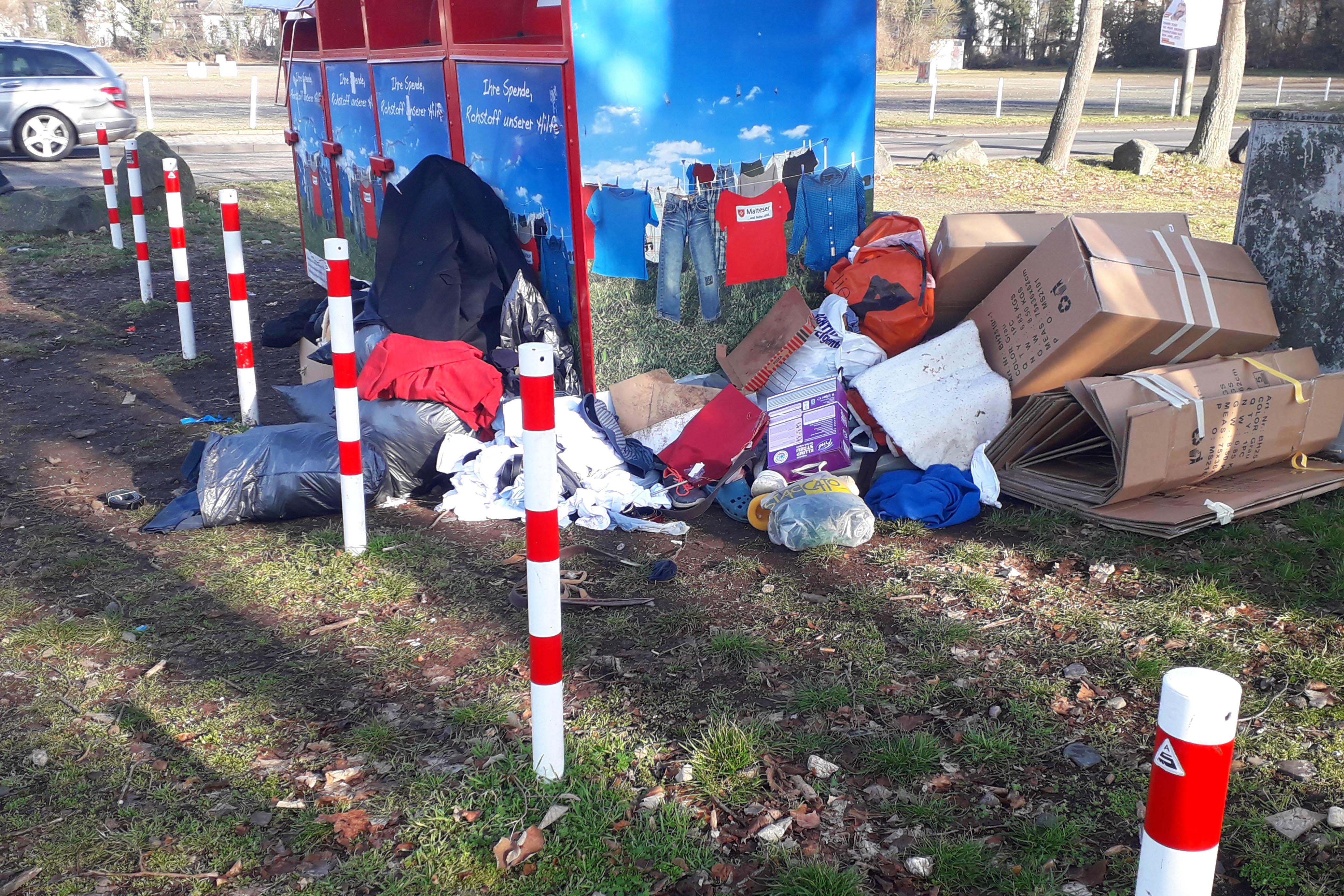 Ehrenamtliche Müll- und Verschönerungsaktion in Heddesdorf