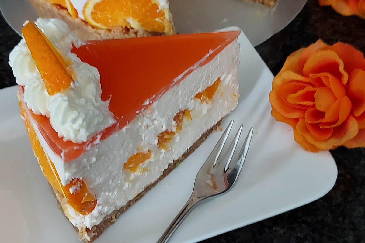 Westerwälder Rezepte: Aperol Spritz Torte