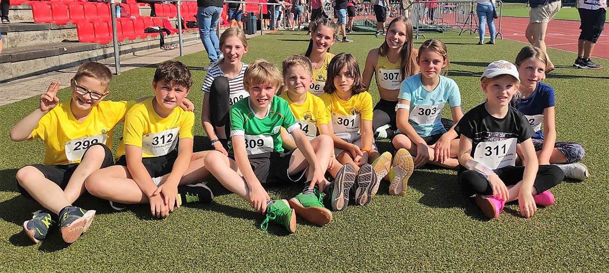 Erster Wettkampf für VfL-Leichtathletik-Kinder aus Waldbreitbach