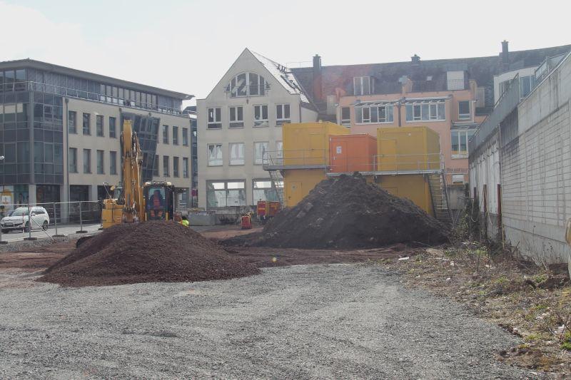 Vorarbeiten für das Verbandsgemeindehaus starten planmäßig