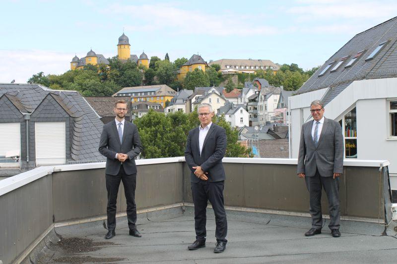Neuer Werkleiter Andreas Klute im Rathaus Montabaur begrüßt