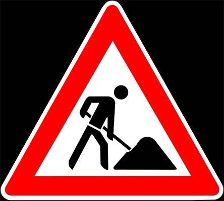 Instandsetzungsarbeiten an der B 42 in Unkel
