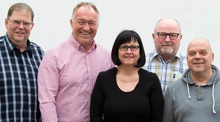 Die SPD-Liste für Torney steht