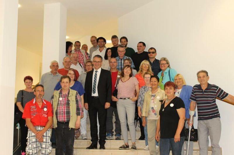 Freundeskreis Westerwald besuchte Landtag in Mainz