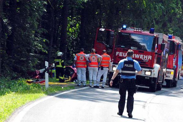 T�dlicher Verkehrsunfall auf der L 265 zwischen Steimel und Puderbach