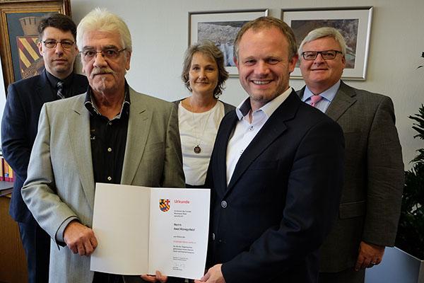 Axel Königsfeld arbeitet seit 25 Jahren bei Stadtverwaltung