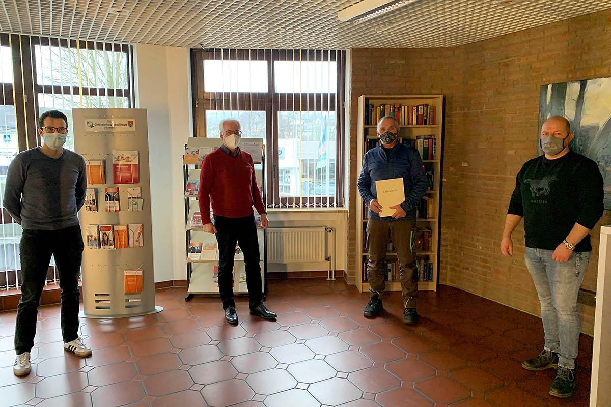 25-jähriges Dienstjubiläum bei VG Puderbach