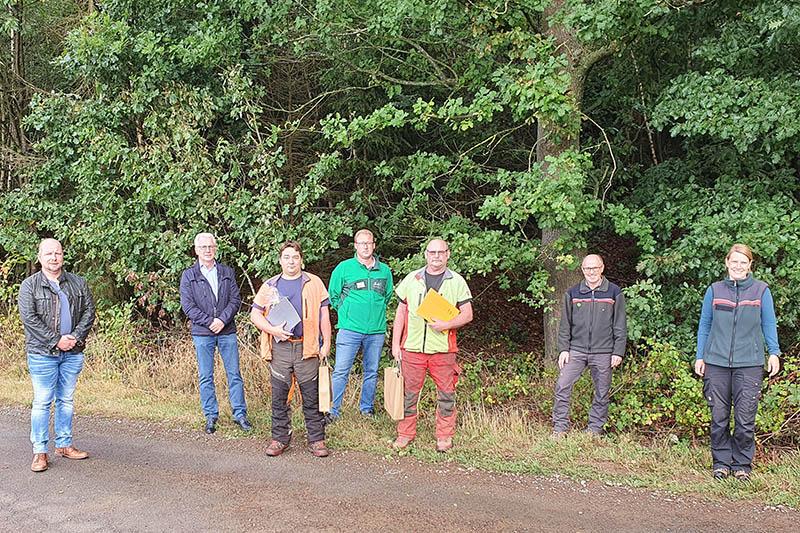 Zwei Forstwirte begehen Dienstjubiläum bei VG Puderbach