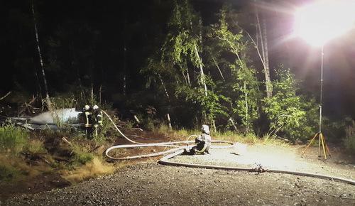 Mehrere Waldbrand-Eins�tze f�r Herdorfer Feuerwehr