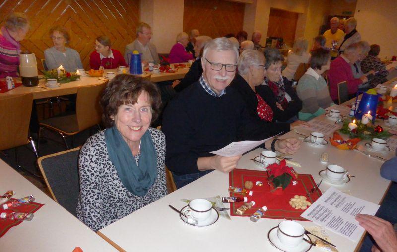 Westerwaldverein Bad Marienberg wanderte zum Adventskaffee
