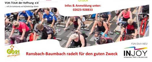 1. Spinning Marathon in Ransbach-Baumbach