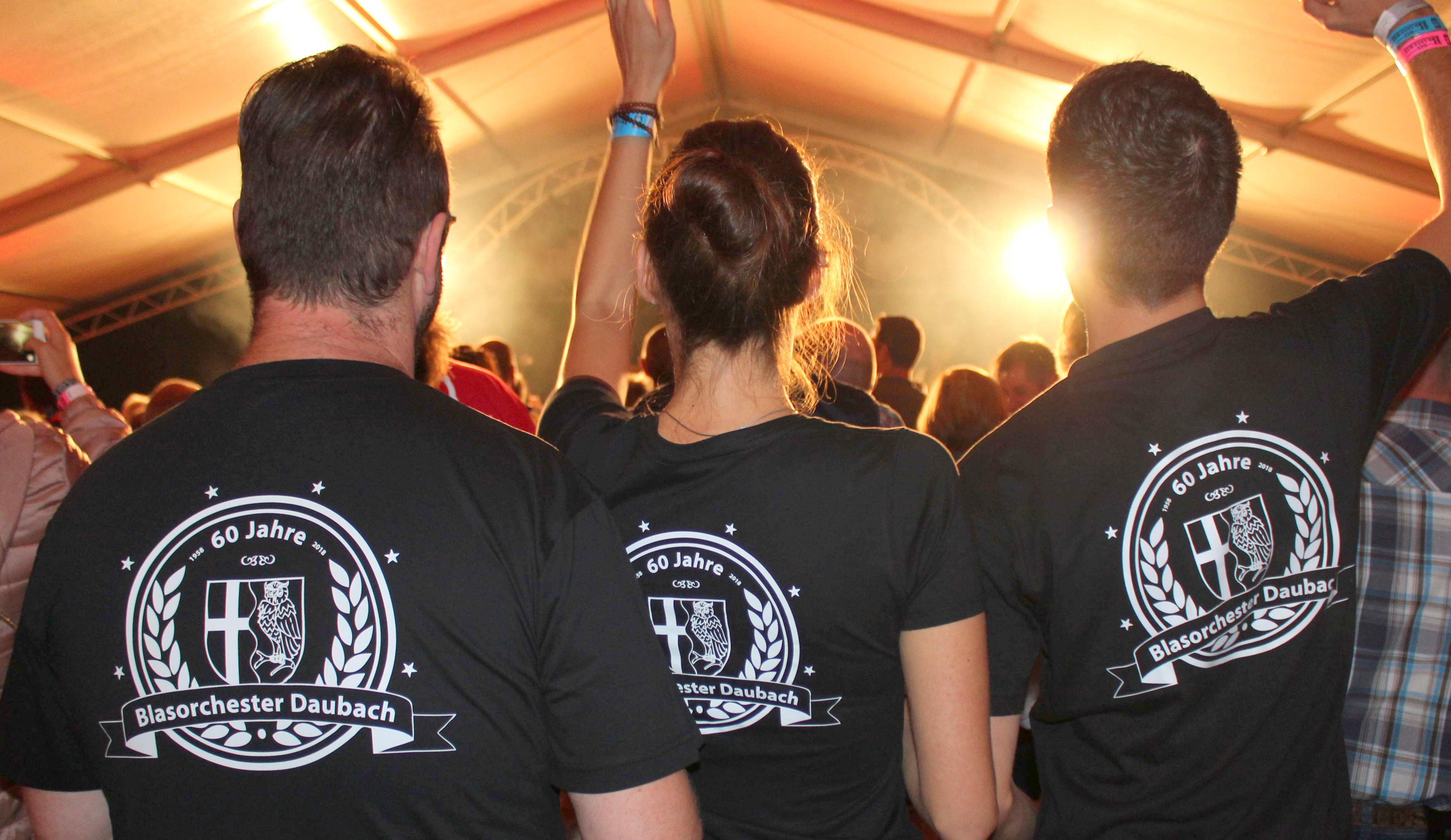 Blasorchester Daubach: Drei-Tages-Feier zum 60. Geburtstag