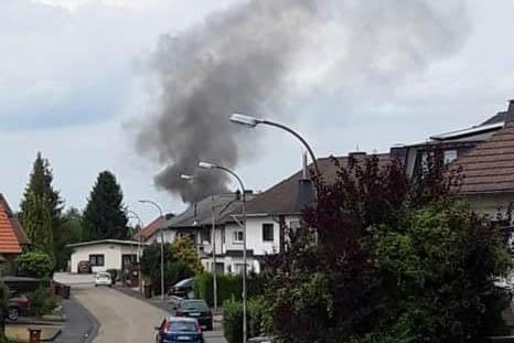 In St. Katharinen-Notscheid brennt Einfamilienhaus