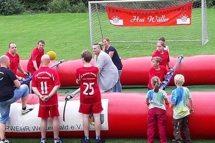 FC Bayern München Fanclub Hoher Westerwald kickte