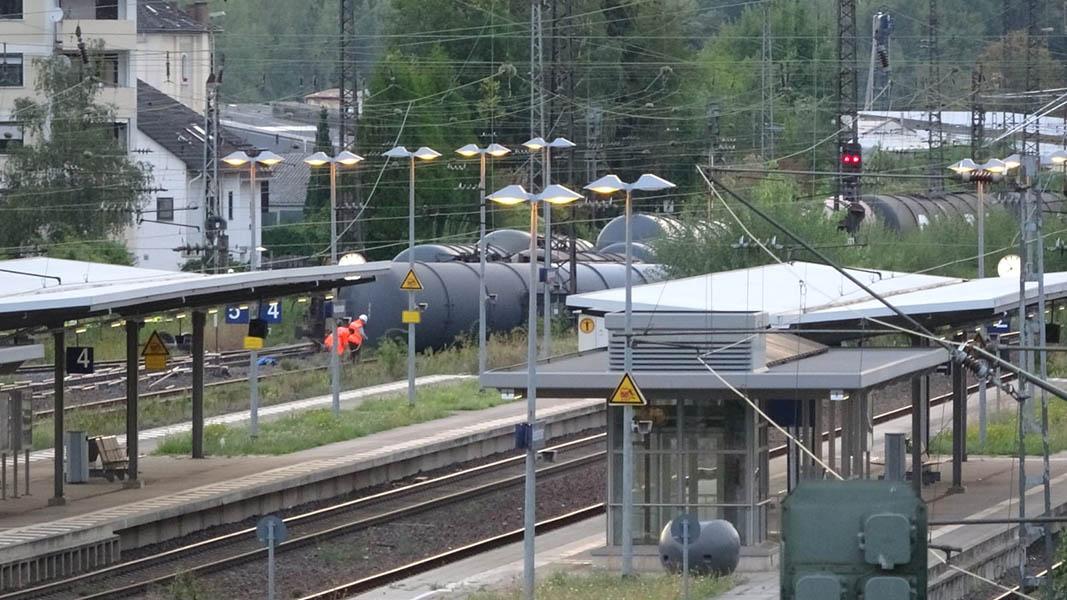 BI: Neue Erkenntnisse zum schweren Güterzugunfall in Lahnstein