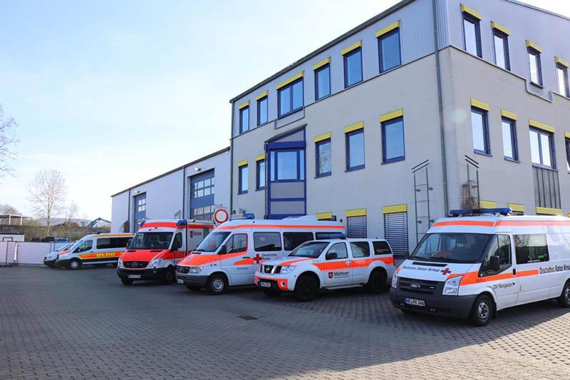Blick auf die Fieberambulanz in Neuwied. Foto: Kreisverwaltung