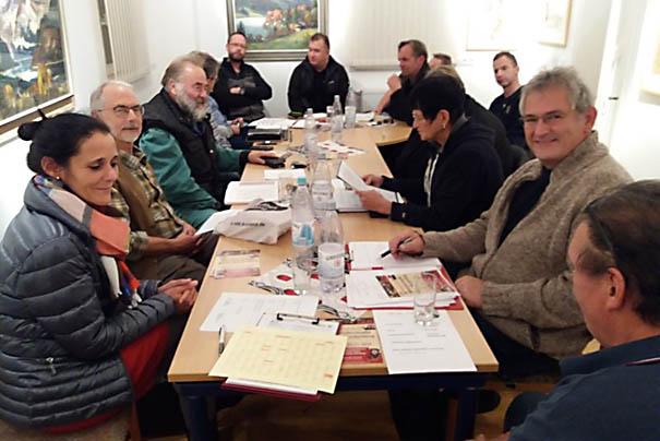 Erstes Planungstreffen für die 700-Jahrfeier in Steimel