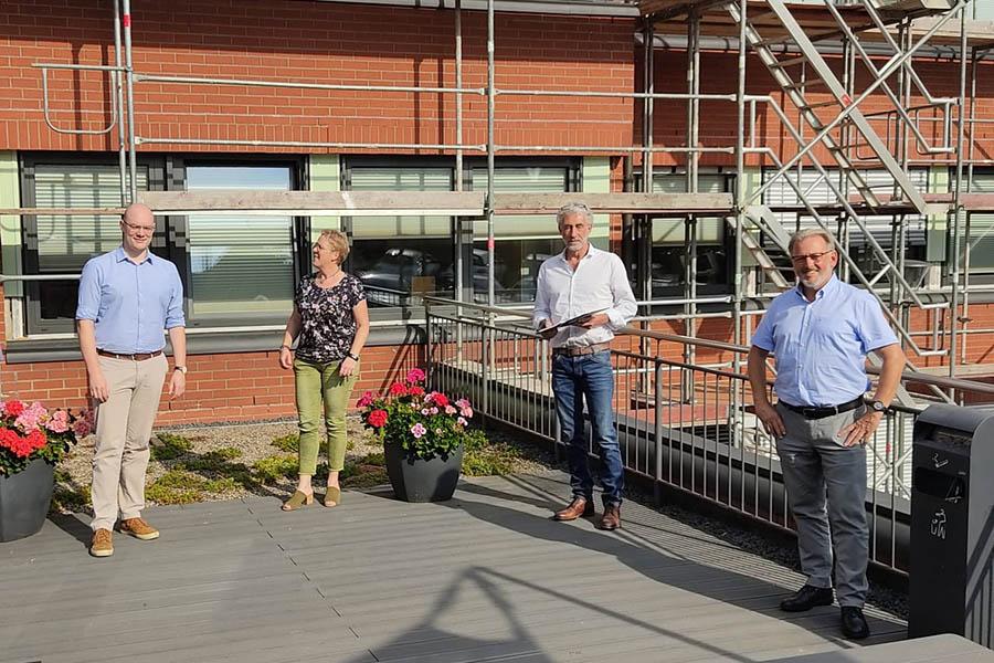 Rathaus VG Hachenburg rüstet auf