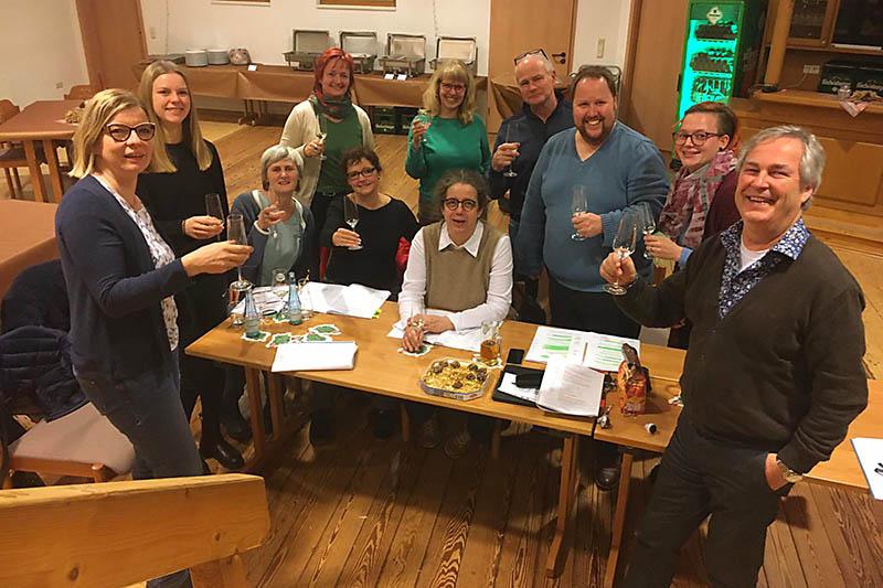 Die Theatergruppe in der VG Rengsdorf ermittelt