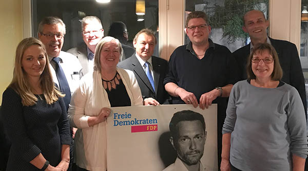 FDP Amtsverband Linz wählte neuen Vorstand