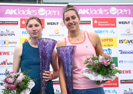 """AK  ladies open"": Van der Hoeks Netzroller entscheidet das Finale"