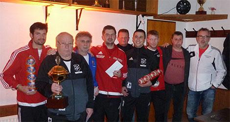 Beim 38. AH-Hallenfu�ballturnier siegte die SG Kirchen-Alsdorf