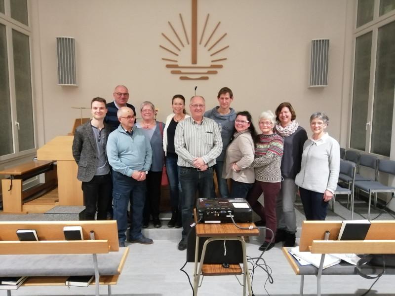 Die Neuapostolische Gemeinde Altenkirchen informierte sich über die Arbeit des Hospizvereins. Foto: Privat
