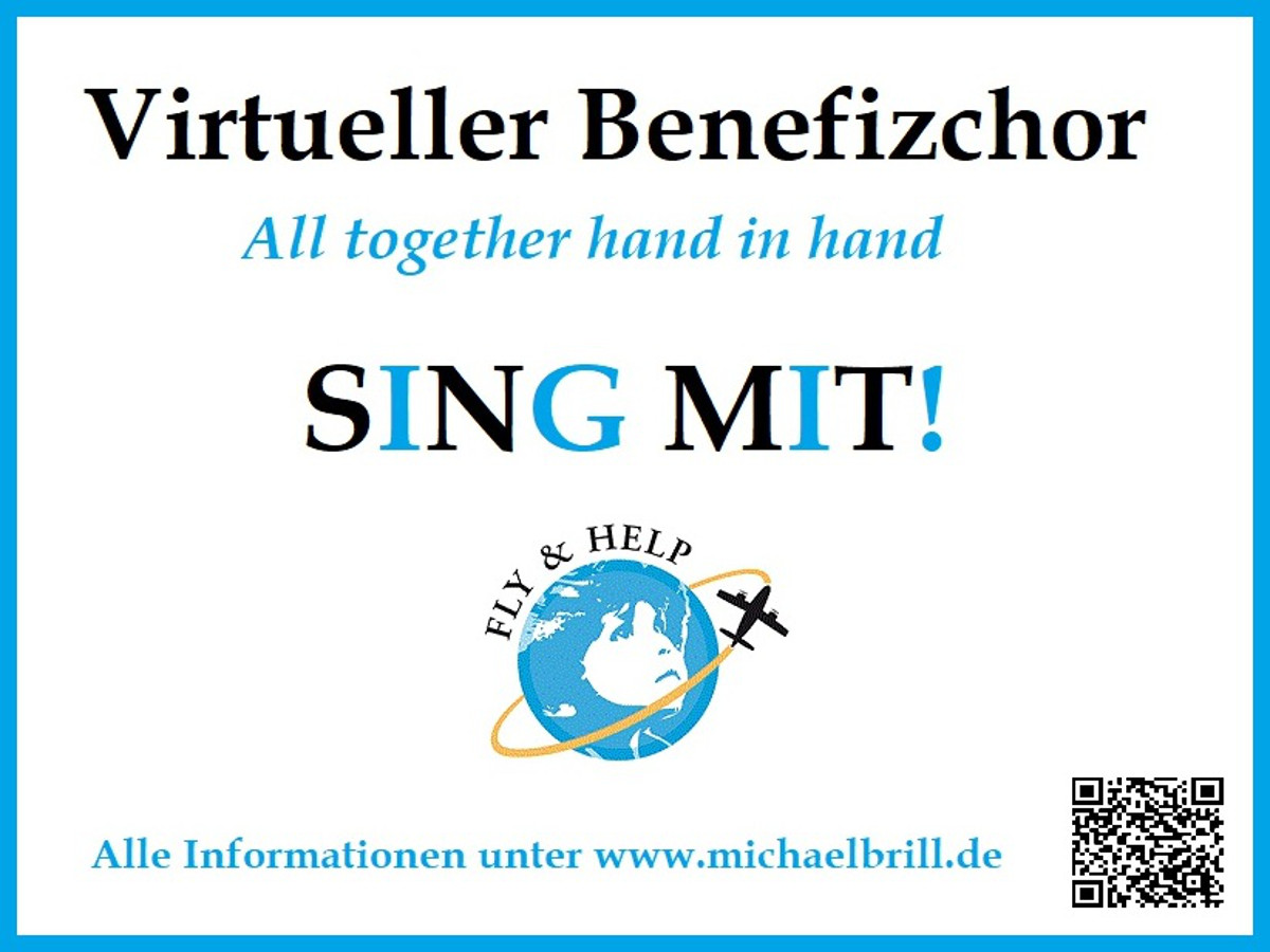 Virtueller Benefiz-Chor startet