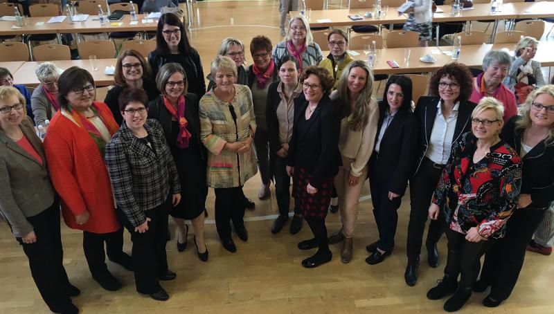 Die Frauen-Union hat sich einen neuen Landesvorstand gewählt. Foto: Privat