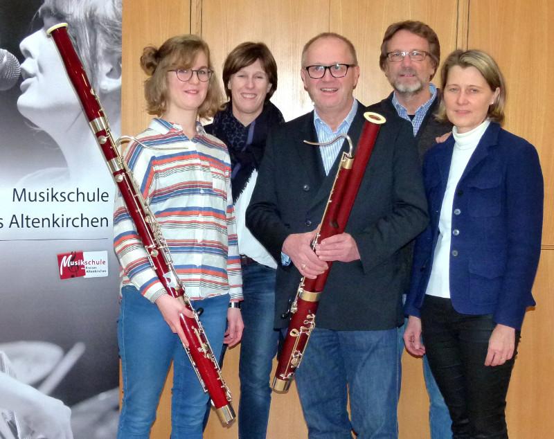 Förderverein spendet der Kreismusikschule ein Schülerfagott