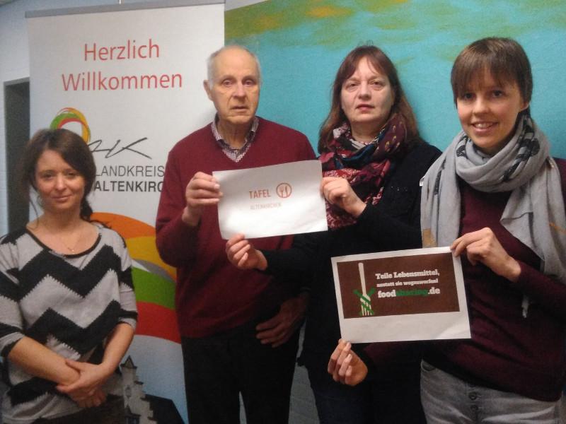 """Teilen statt Wegwerfen"": Foodsharing Altenkirchen gegründet"