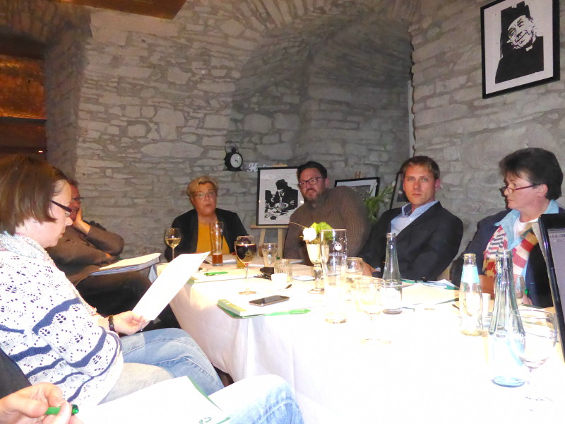 Gr�ne diskutieren LEADER-Programm im Kreis Altenkirchen