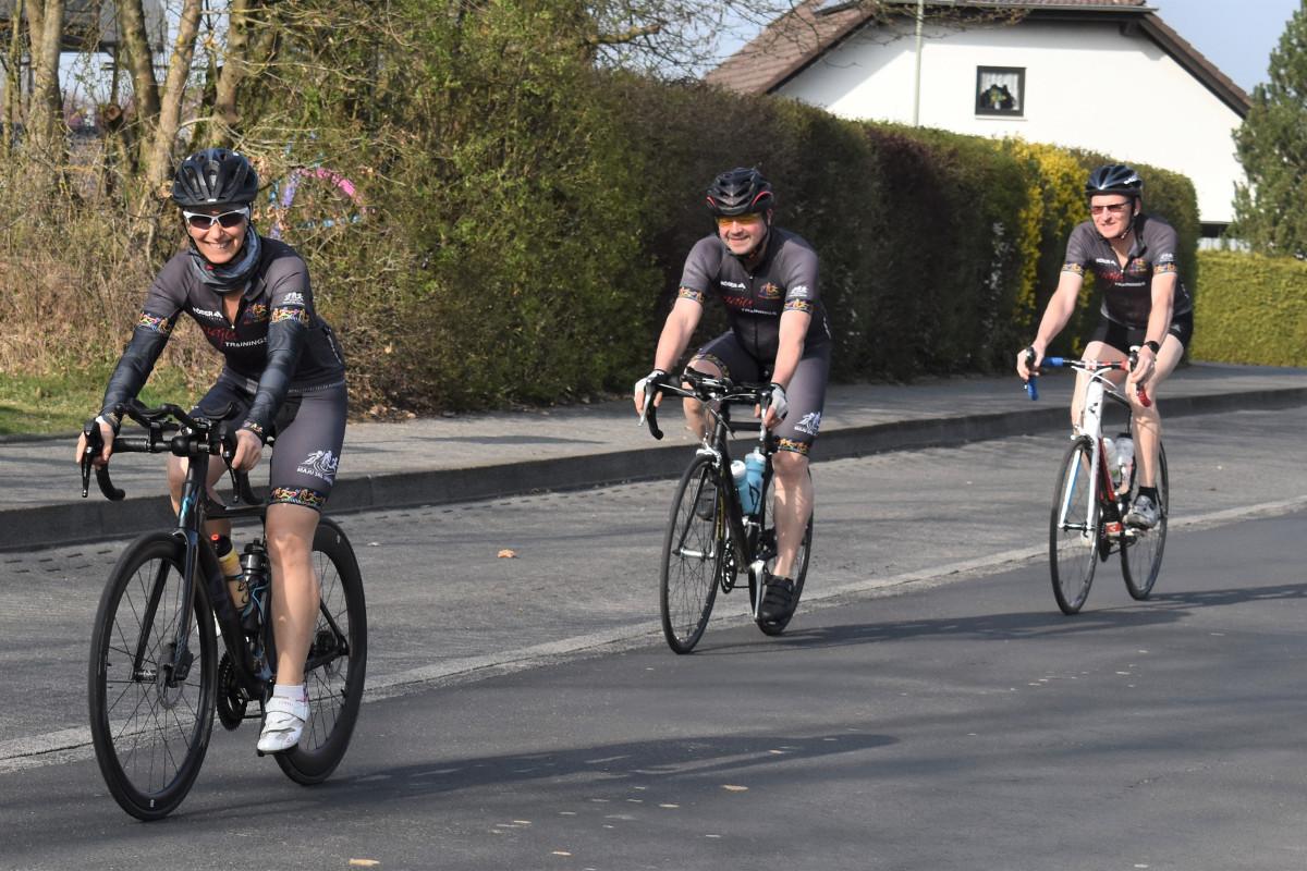 """Im """"Race Across Germany"""" auf 780 Kilometern durch die Republik"""