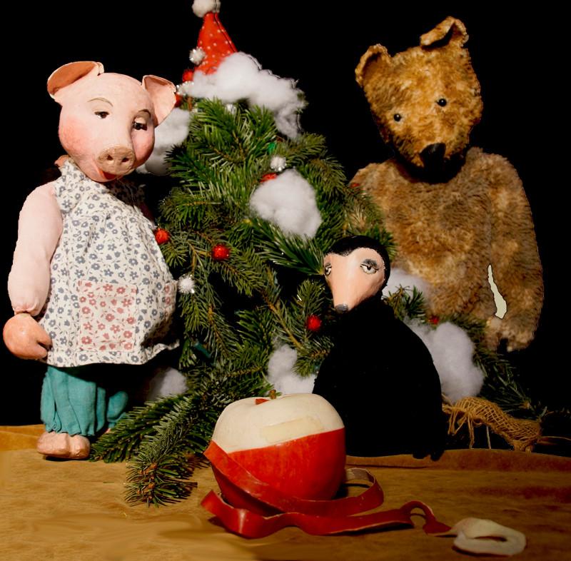 Guck Mal Figurentheater Zeigt Der Weihnachtsapfel Ak Kurier De