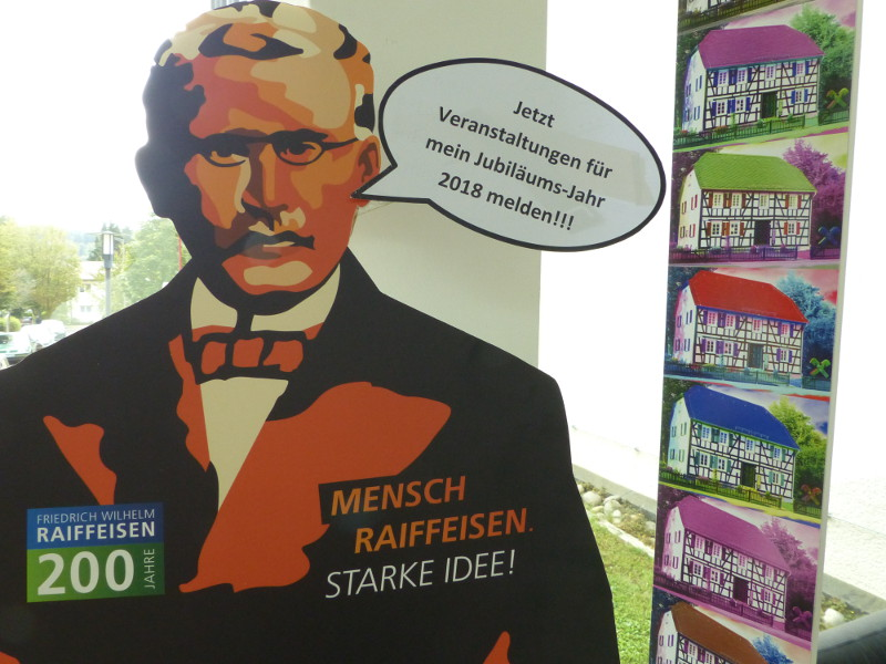 Ein gedruckter Veranstaltungskalender soll einen Überblick der im Jahr 2018 stattfindenden Raiffeisen-Events geben. Foto: KV Altenkirchen