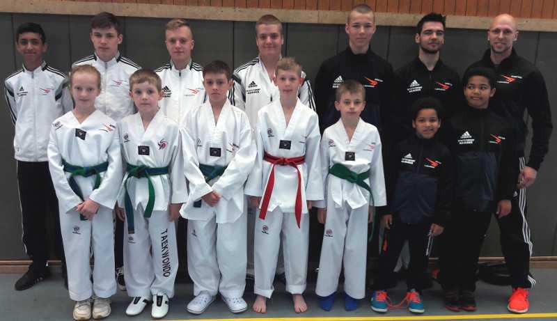 Gute Ausbeute f�r Sporting Taekwondo beim Becketal-Cup