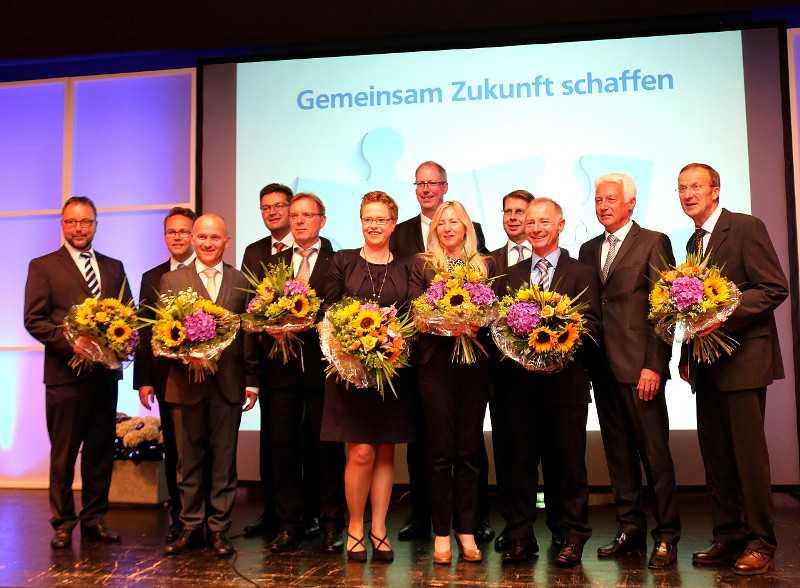 Aufsichtsrat und Vorstand der Westerwald-Bank sind zufrieden mit der Entwicklung. Foto: Privat