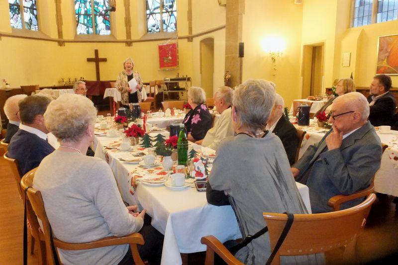 AWO Linz sammelte auf Weihnachtsfeier für philippinisches Hilfsprojekt