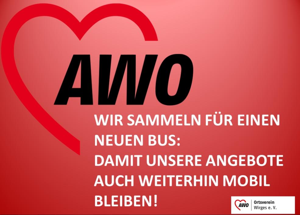 Spenden für neuen AWO-Bus