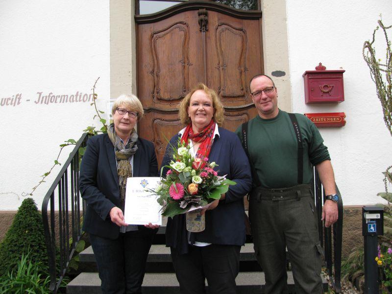 Birgit Müller in den wohlverdienten Ruhestand verabschiedet